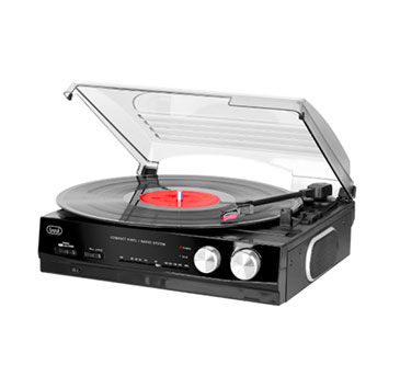 Giradischi Vinyl Music Trevi TT1010R | Il Faro Elettrodomestici