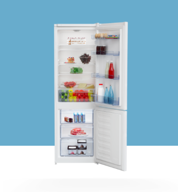frigorifero beko aperto